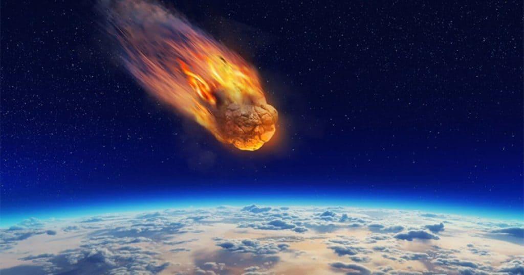 Puede un meteorito impactar contra una avioneta