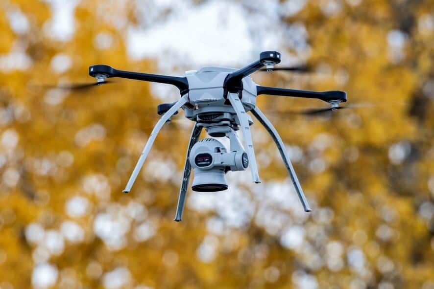 se registraron 471 incidentes con drones