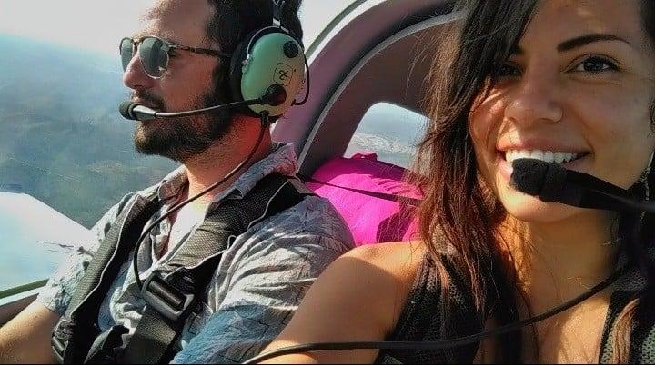 Ser piloto por un día y paseo en avioneta
