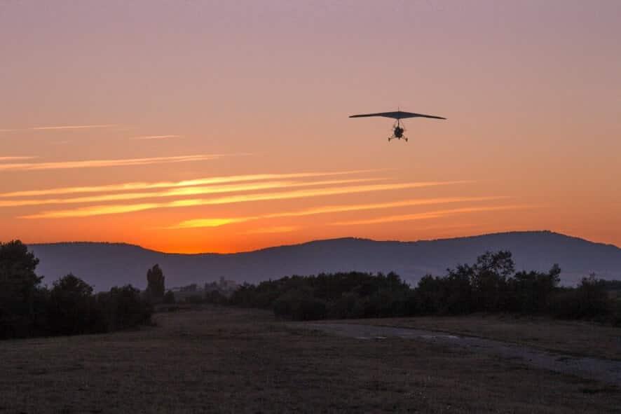 Vuelo en Trike Escuela de aviadores